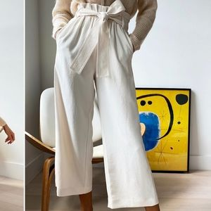 Aritzia Wilfred New paperbag pants
